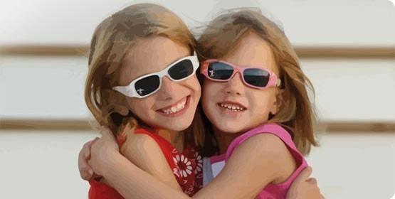 lunettes enfant1 Comment bien choisir les lunettes de soleil de vos enfants ?