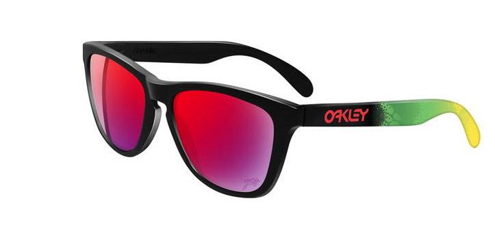 lunettes Oakley Frogskin Nouveauté Oakley : Les lunettes de soleil  série limitée Jupiter Camo
