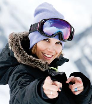 masque femme2 Les masques de ski Bollé, collection 2012!